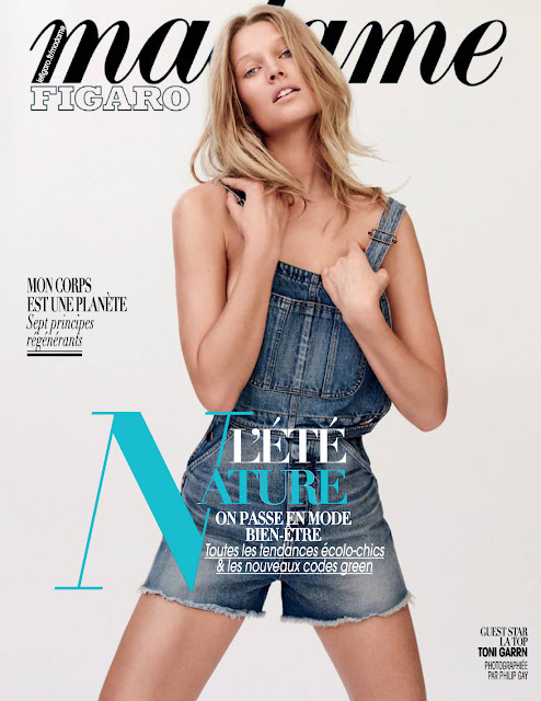 Fashion Model, @ Toni Garrn in Madame Figaro July 2016