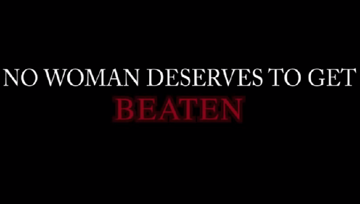 NO WOMAN DESERVES TO GET BEATEN