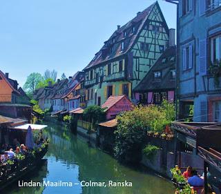 Route des vins d`Alsace, Colmar Ranska