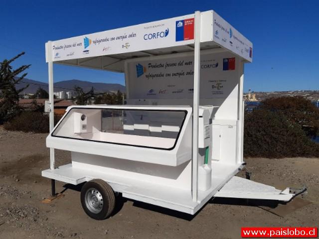 Carro autosustentable para Pymes de productos del mar en Ferias Libres
