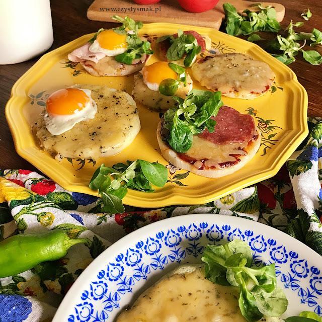 Pieczona kalarepa na śniadanie