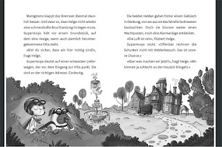 Blick ins Buch von Nicolas Gorny - Supermops und der dreiste Dackelraub