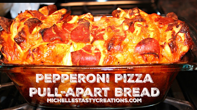 Michelle S Tasty Creations Pepperoni Pizza Pull Apart Bread