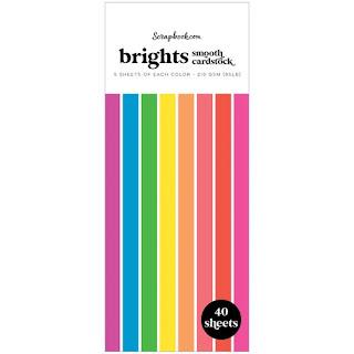 Brights Slimline Paper Pad