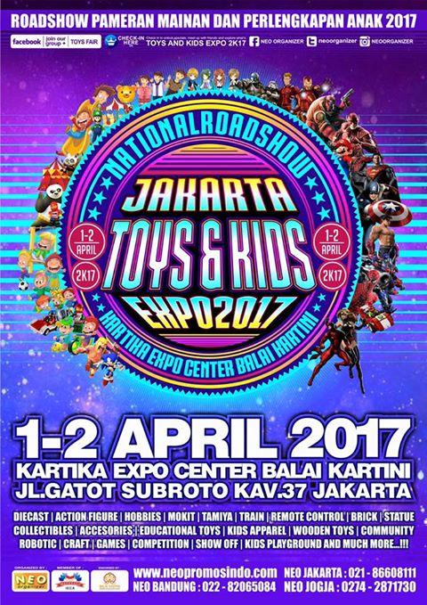 Neo Organizer Expo Toys And Kids Expo 2017 Jakarta