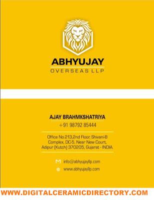 ABHYUJAY OVERSEAS LLP - 9879285444