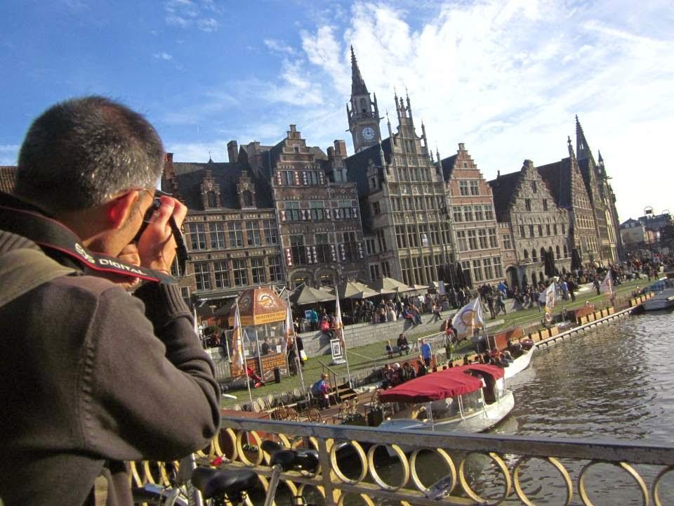 Graslei in Ghent