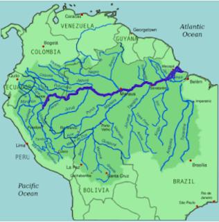 نهر الأمازون Amazon River