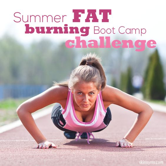 Summer Fat Burning Boot Camp Challenge