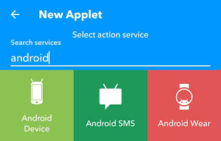 Select Android Device service