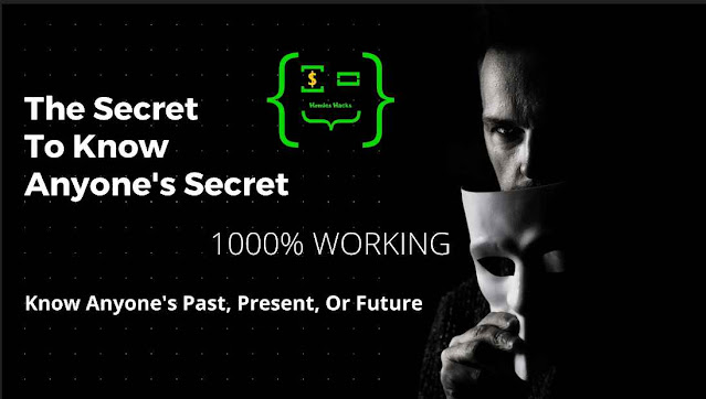 The Secret To Know Anyone's Secret