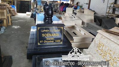 Makam Granit Ukuran Jumbo, Model Makam Mataram Granit, Kijing Makam Granit