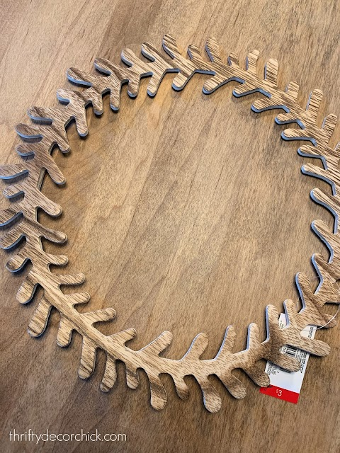 Wood laurel wreath