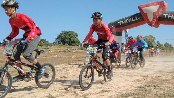 Atlet Sinjai Utara Mendominasi   di Balap Sepeda Porkab IV, Boyong 3 Emas