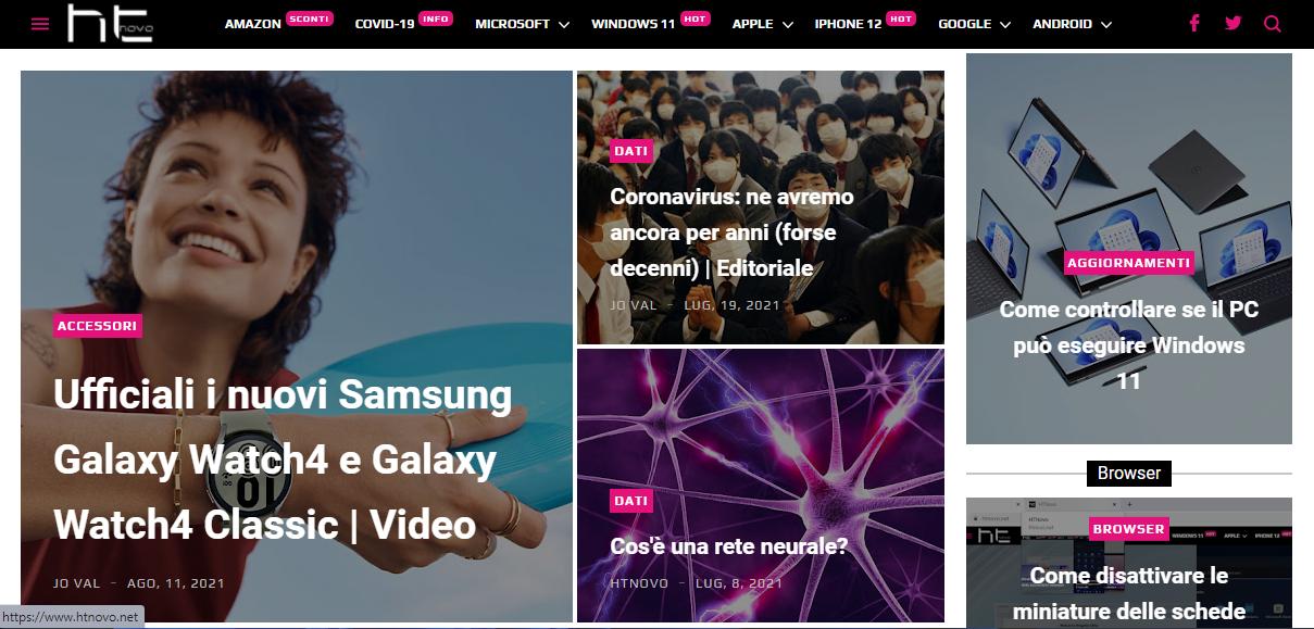 Potete iscrivervi alla nuova Newsletter di HTNovo.net!