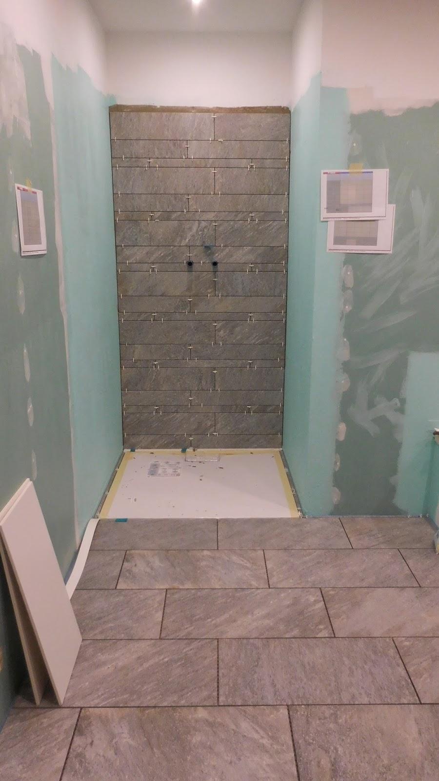 Schroli´s Baublog Badezimmer verfliesen