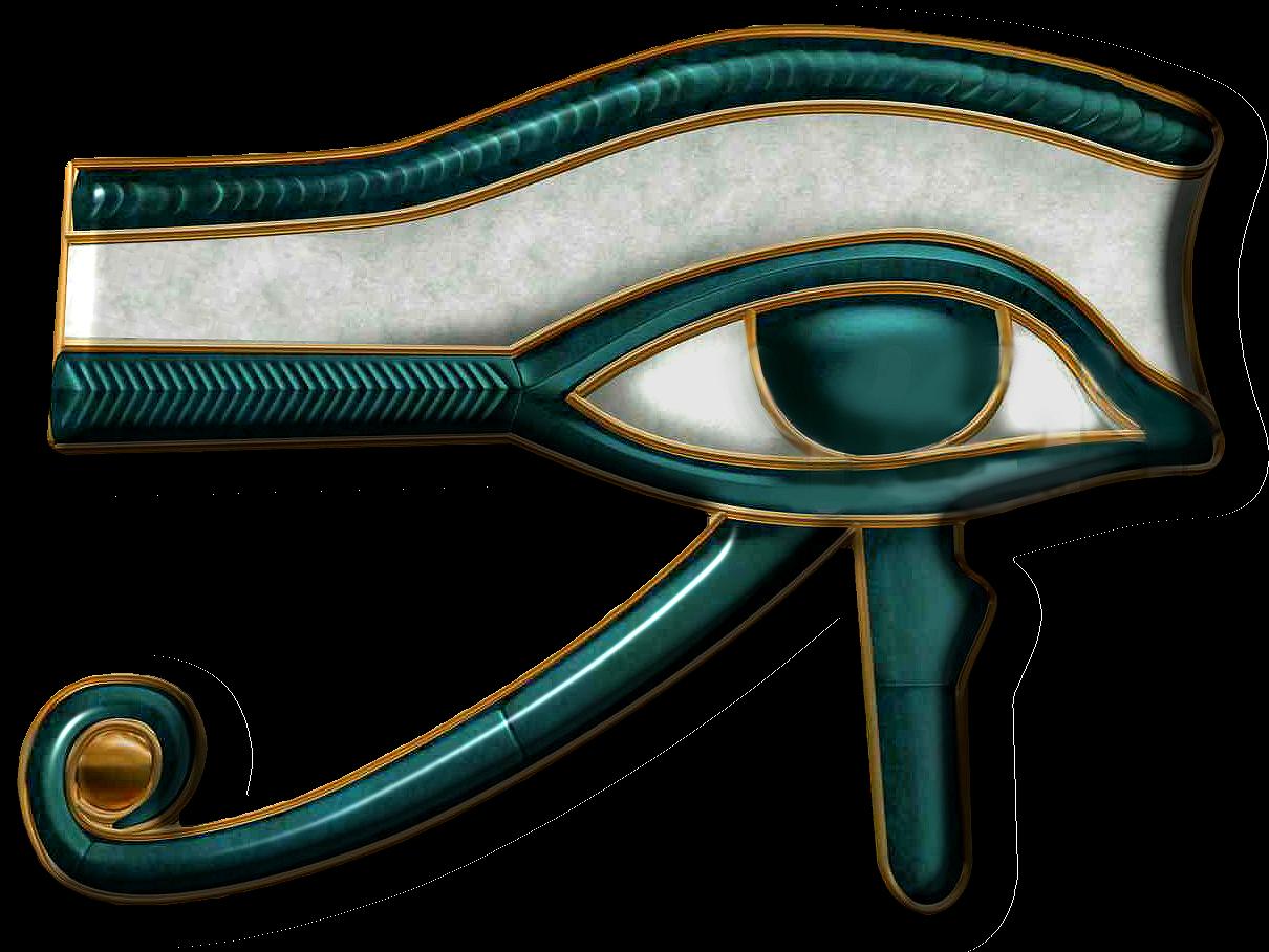 Egyptian eye of ra