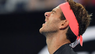 Frances Tiafoe saved 14 of 16 break-point chances to edge No. 2-seeded Juan Martin del Potro 7-6 (6), 4-6, 7-5 Thursday night in the second round of the Delray Beach Open.  Tiafoe hit 17 aces and won a three-setter for the fourth time this month.  No. 8 Chung Hyeon became the highest-seeded player to reach the quarterfinals when he eliminated Franko Skugor 6-4, 7-6 (4). American Jared Donaldson beat Denis Shapovalov of Canada, 7-6 (6), 4-6, 4-6.