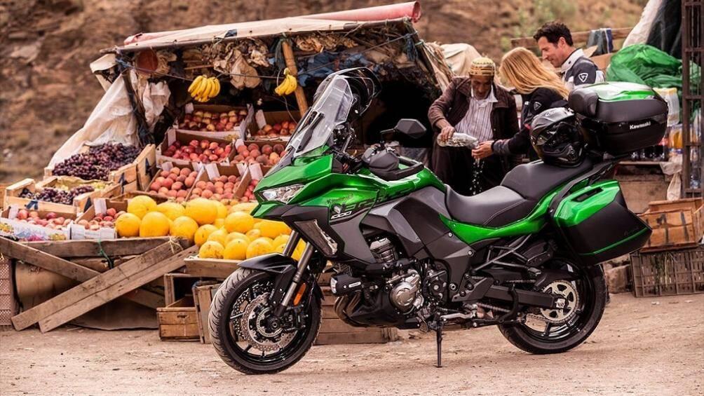 Kawasaki Versys 1000 chính thức ra mắt với ngoại hình và trang bị mới