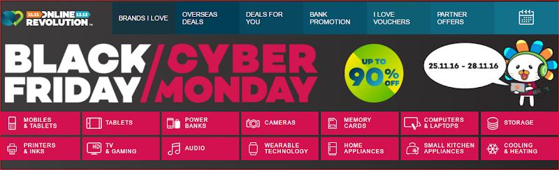 Lazada - Black Friday/Cyber Monday