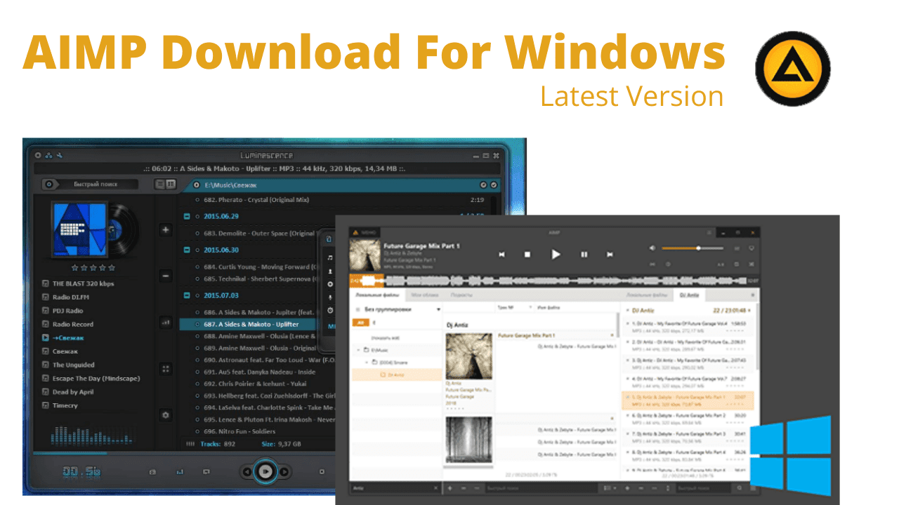 AIMP Download For Windows Latest Version