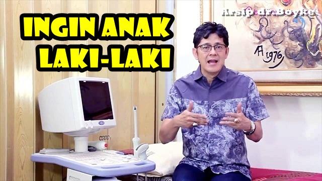 Tanya Jawab Seks dr.Boyke: INGIN ANAK LAKI-LAKI