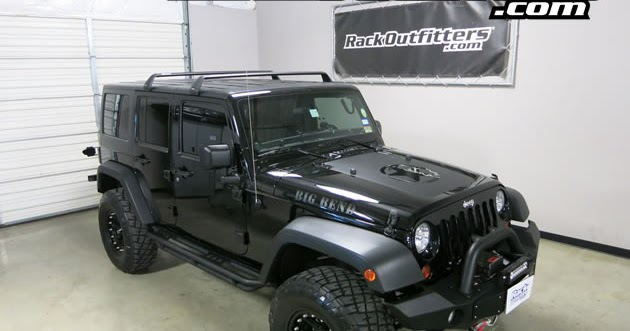 Rack Outfitters Jeep Wrangler Unlimited Rhino Rack Vortex