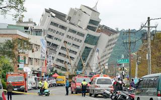 Tremores voltam a atingir Taiwan e número de mortos por terremoto sobe para 10