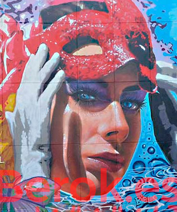 Graffiti cara