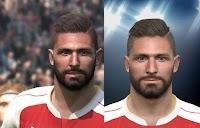 PES 2016 Olivier Giroud Face Update