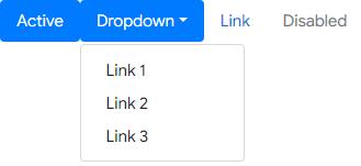 Membuat Navigasi Pill dengan Dropdown di Bootstrap 4
