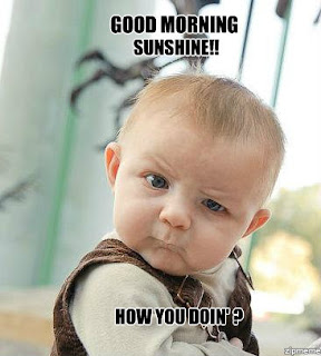 good morning sunshine funny baby good morning picture