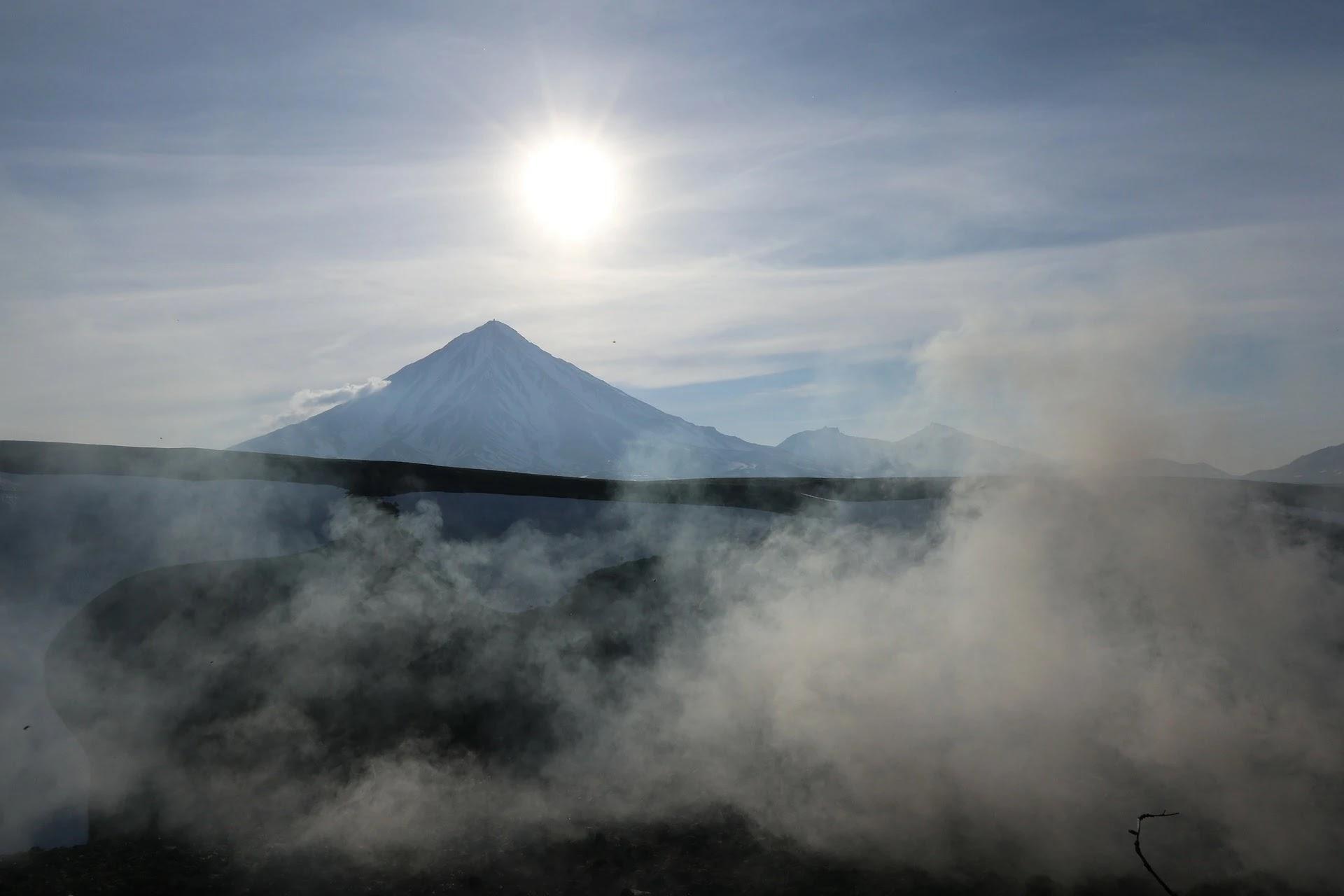 صورة دخان وغبار