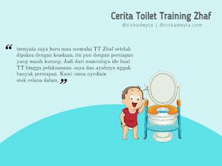 Persiapan toilet training