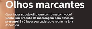 Promoção Maquiagem Grátis Quem Disse Berenice 201
