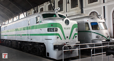 Nuseo del Ferrocarril de Madrid