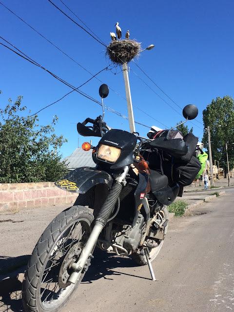 Ermenistan motosiklet turu