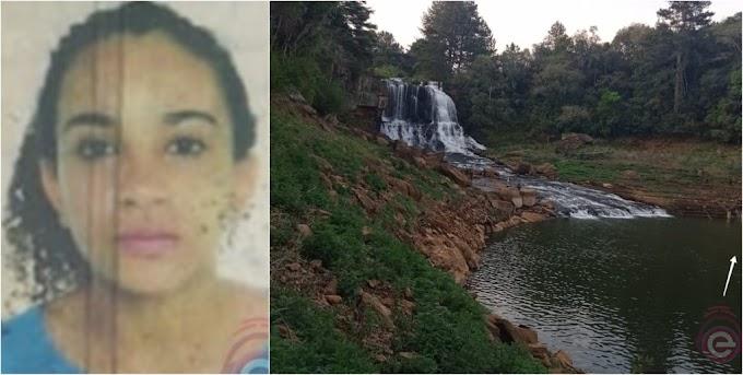 Adolescente morre afogada em cachoeira no Candói