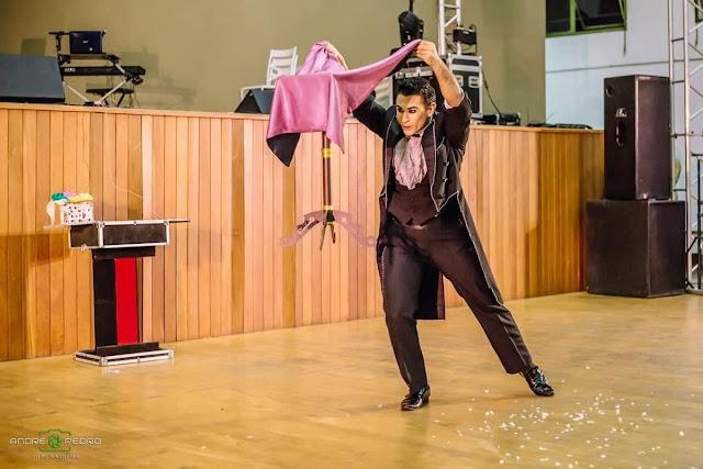Show de circo e mágica para evento na instituição Vida Mais, Itapira SP.