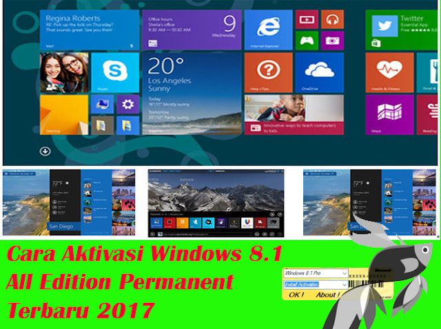 cara,aktivasi,windows 8.1,pro,kmspico,build 9600,permanent,dengan,8.1 pro,online,product key,online,tutorial,win8,win 8,tanpa,aktivator,aplikasi,software,serial number