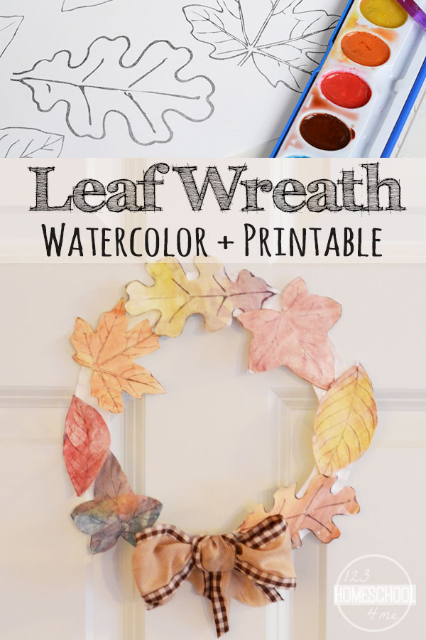Super Cute And Fun To Make Fall Craft For Kids Using Printable Leaves Leaf Template