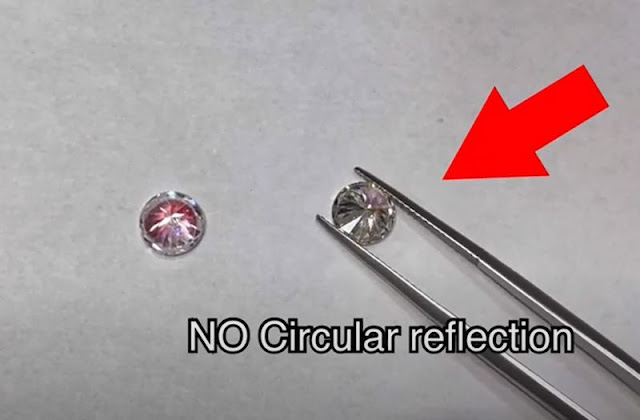 How to Tell If a Diamond Is Real-Dot Test
