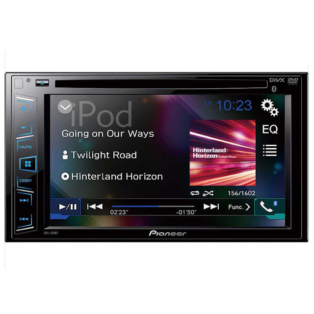 DVD Player com Rádio AM/FM/USB e Bluetooth AVH-298BT Pioneer - DIVERSOS