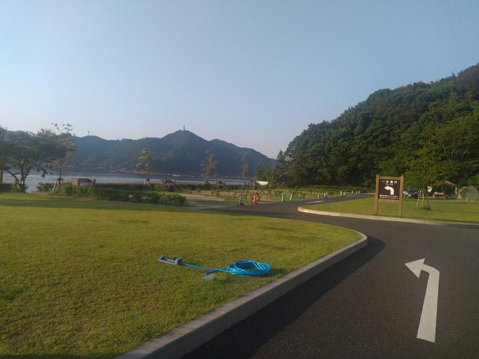 休暇村南淡路 キャンプ場
