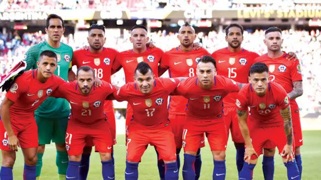مباراة تشيلي ضد  باراجواي كوبا امريكا