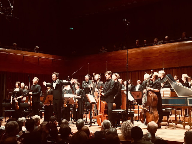 Handel Israel in Egypt (1756); BBC Singers, Academy of Ancient Music, Gergely Madaras; Milton Court Concert Hall