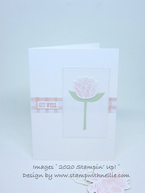 Lily Pad dies Stampin Up