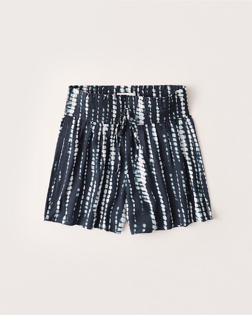 A&F Drapey Pull On Shorts