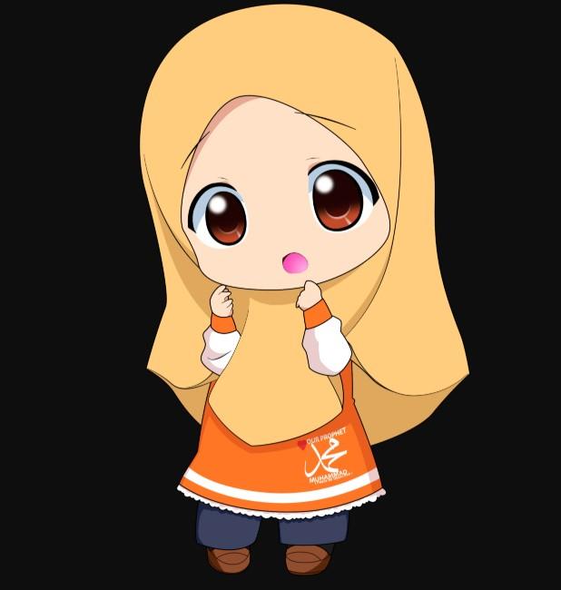 101 Gambar Kartun Muslimah Berhijab Cantik Menggunakan Cadar Dan Semakin Imut Ketika Berkacamata Kanalmu
