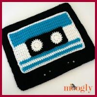 Bolsa casette a crochet